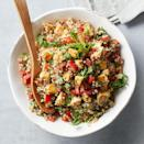 <p>Tabbouleh is a Lebanese dish that relies on plenty of fresh parsley and just a hint of mint. Here, we add pan-seared chicken to transform this tabbouleh recipe into a heartier meal.</p>