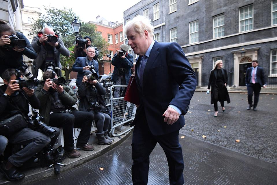 <p>Boris Johnson</p> (PA)