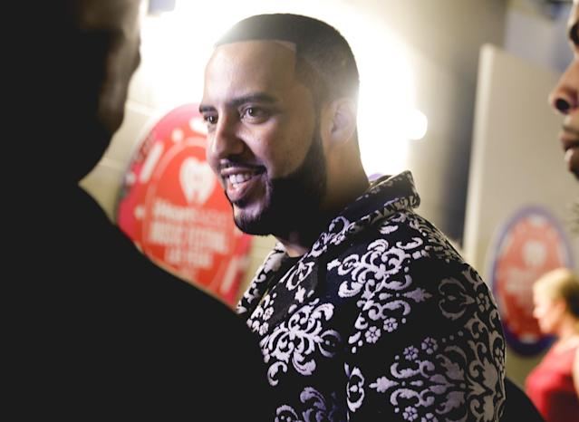 <p>LAS VEGAS, NV – SEPTEMBER 22: French Montana attends the 2017 iHeartRadio Music Festival at T-Mobile Arena on September 22, 2017 in Las Vegas, Nevada. (Photo: Getty Images for iHeartRadio) </p>