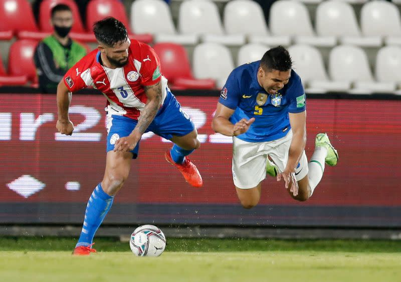 World Cup - South American Qualifiers - Paraguay v Brazil