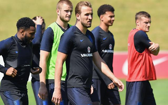 Who made England's 23-man squad? Goalkeepers: Jack Butland (Stoke), Jordan Pickford (Everton), Nick Pope (Burnley). Defenders: Trent Alexander-Arnold (Liverpool), Gary Cahill (Chelsea), Fabian Delph (Manchester City), Phil Jones (Manchester United), Harry Maguire (Leicester), Danny Rose (Tottenham Hotspur), John Stones (Manchester City), Kieran Trippier (Tottenham Hotspur), Kyle Walker (Manchester City), Ashley Young (Manchester United). Midfielders: Dele Alli (Tottenham Hotspur), Eric Dier (Tottenham Hotspur), Jordan Henderson (Liverpool), Jesse Lingard (Manchester United), Ruben Loftus-Cheek (Chelsea). Forwards: Harry Kane (Tottenham), Marcus Rashford (Manchester United), Raheem Sterling (Manchester City), Jamie Vardy (Leicester), Danny Welbeck (Arsenal). Standby: Lewis Cook (Bournemouth), Tom Heaton (Burnley), Adam Lallana (Liverpool), Jake Livermore (West Brom), James Tarkowski (Burnley). Gareth Southgate decided to leave Joe Hart and Jack Wilshere at home and has picked a squad heavily-loaded with defenders, reflective of his desire to play with three centre-backs and wing-backs. Trent-Alexander-Arnold could win his first England in Russia while the inclusion of Ruben Loftus-Cheek also speaks to Southgate's bold approach. Harry Kane will captain the side. Now you know the squad, pick you England starting XI and formation: England Formation Builder Who is in England's group? England are in Group G alongside Belgium, Tunisia and Panama. Belgium: One of the favourites for the competition with a dazzling array of talent. England will be familiar with most of their key players: Thibuat Courtois, Vincent Kompany, Toby Alderweireld, Jan Vertonghen, Kevin De Bruyne and Romelu Lukaku among others, all play in the Premier League. England's toughest opponent by a distance. Tunisia: Potentially tricky opposition who will look to frustrate England. Were unbeaten in qualifying and Sunderland winger Wahbi Khazri could be a danger man. Nevertheless, a team England should beat 