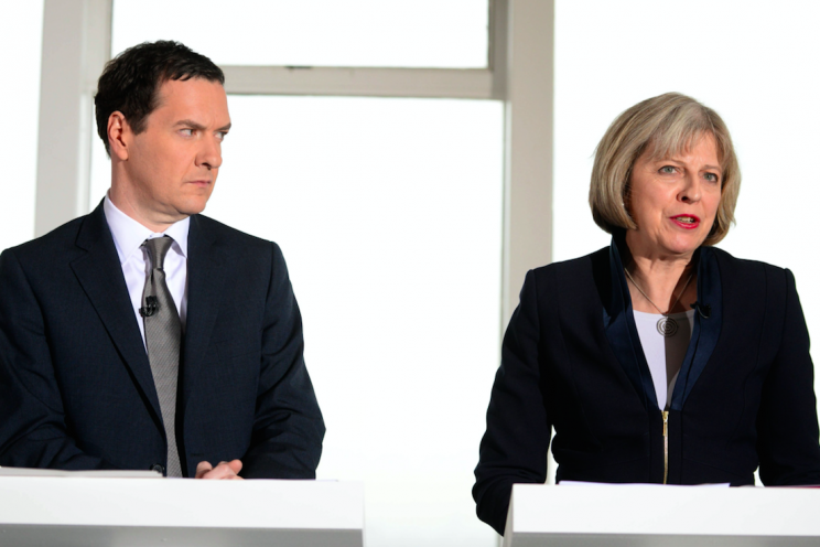 Has seven years of austerity from George Osborne and Theresa May lowered our life expectancy? (Picture: Rex)
