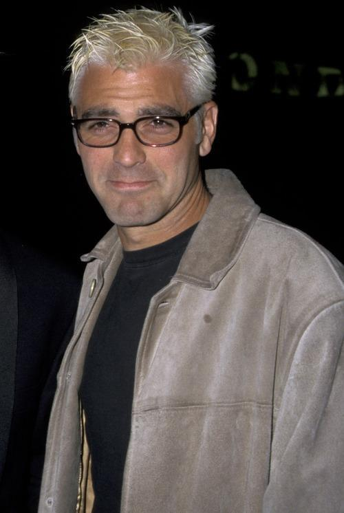 George Clooney S New Coen Brothers Hairdo Is A Nod To The 90s