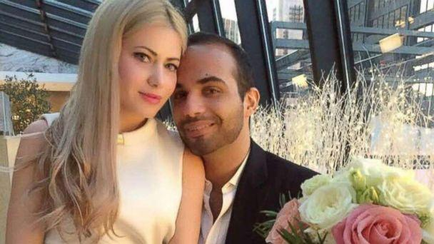PHOTO: George Papadopoulos married Simona Mangiante in Chicago, March 2, 2018. (Obtained by ABC News)