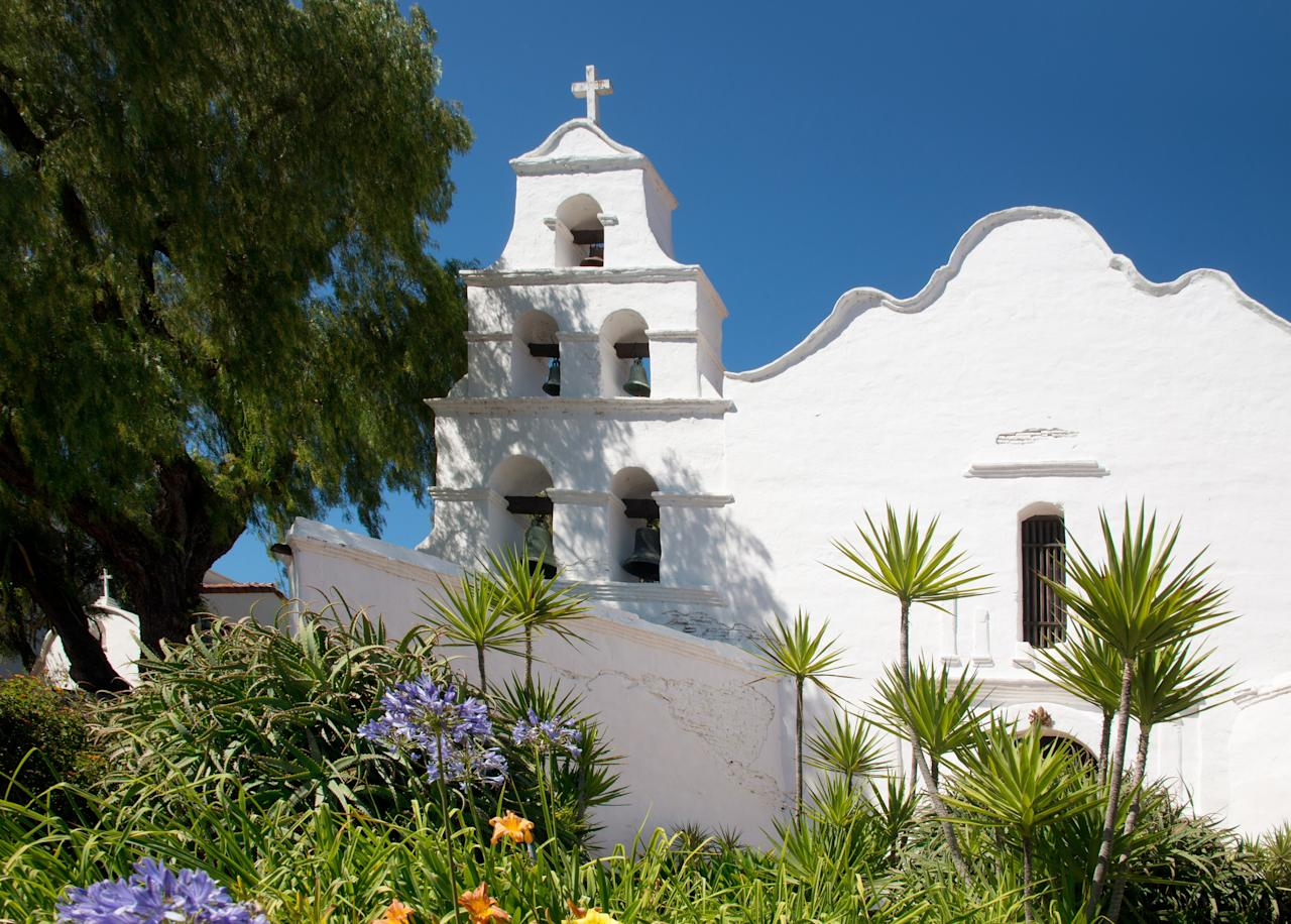 <p><strong>Tell me: What's this place all about?</strong><br> There are 21 missions dotting the California coast, and San Diego lays claim to the first. Established in 1769, Mission San Diego de Alcalá is the physical representation of Christianity's birth on the West Coast. Even today, you can worship here—it's an active parish with Mass held daily—but even if you aren't a practicing catholic, the mission is still a sight to behold, with white stucco walls, Spanish roof tiles, and grand archways. It's perched on a hill overlooking Old Town with gorgeous views. Attendance here is casual; no tickets needed (unless you're booking a guided tour) and admission is $5 per adult.</p> <p><strong>What's it like being there?</strong><br> Peaceful and quiet.</p> <p><strong>Is there a guide involved?</strong><br> The Mission offers reservable guided weekday tours (and limited weekend tours) at 9am, 11am, and 1pm. The self-guided tours are packed with info, too.</p> <p><strong>Who comes here?</strong><br> You'll see an older crowd as well as families, many of whom come to worship. Others come for history; others, for the view and architecture. The grassy lawns are great for picnics, too.</p> <p><strong>Did it meet expectations?</strong><br> It may be near the hubbub of touristy Old Town, but the Mission San Diego de Alcalá feels worlds away. The building is in great condition—it's the fifth church built on the site since 1769—and the grounds are immaculate. Make sure to spend some time in the gardens, which are filled with palms, flowers, and succulents.</p> <p><strong>So, then, what, or who, do you think it's best for?</strong><br> History buffs, architecture geeks, and worshippers can all appreciate this site in different ways.</p>