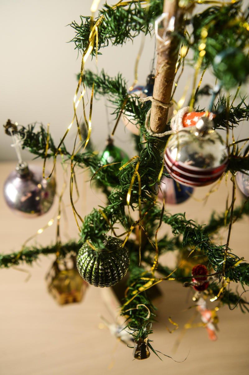 The decorations are all 1920s originals, too. [Photo: SWNS]