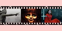 """<p>As far as <a href=""""https://www.goodhousekeeping.com/life/entertainment/g28067867/best-horror-movies-on-netflix/"""" rel=""""nofollow noopener"""" target=""""_blank"""" data-ylk=""""slk:scary movies"""" class=""""link rapid-noclick-resp"""">scary movies</a> go, <em>The Conjuring</em> film franchise is right up there with <a href=""""https://www.goodhousekeeping.com/life/entertainment/g29120903/popular-scary-movies/"""" rel=""""nofollow noopener"""" target=""""_blank"""" data-ylk=""""slk:the best of all time"""" class=""""link rapid-noclick-resp"""">the best of all time</a>. Ever since the first blockbuster of the eight-part series was released in 2013, entitled <em>The Conjuring</em>, <a href=""""https://www.goodhousekeeping.com/holidays/halloween-ideas/g28035314/best-halloween-movies-on-hulu/"""" rel=""""nofollow noopener"""" target=""""_blank"""" data-ylk=""""slk:the movies"""" class=""""link rapid-noclick-resp"""">the movies</a>, which include details from <a href=""""https://www.usatoday.com/story/life/movies/2013/07/22/conjuring-true-story-perron/2457209/"""" rel=""""nofollow noopener"""" target=""""_blank"""" data-ylk=""""slk:real cases and alleged paranormal encounters"""" class=""""link rapid-noclick-resp"""">real cases and alleged paranormal encounters</a>, have continually terrified millions and generated hundreds of millions at the box office worldwide. The eighth movie, <em>The Conjuring: The Devil Made Me Do It</em>, was released in theaters this June — and already it's keeping viewers up at night. </p><p>While the films primarily revolve around the horrifying crimes of two demons and the chilling investigations conducted by paranormal experts Ed and Lorraine Warren, the movies often jump around various timelines and locations. In other words, the inaugural 2013 film isn't actually the first one you should check out if you want to watch them all in chronological order and fully understand the plot. For a full how-to on watching <em>The Conjuring</em> movies in order and key details about each flick, keep on scrolling. </p>"""