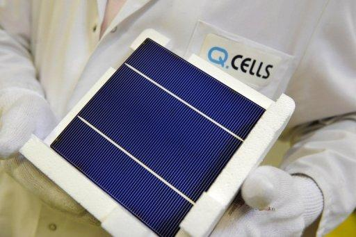 Q-Cells, which filed for insolvency in April, announced Sunday it had been bought by the South Korean Hanwha Group