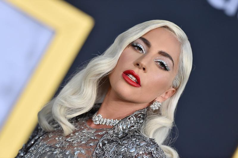 LOS ANGELES, CA - SEPTEMBER 24: Lady Gaga attends the premiere of Warner Bros. Pictures' 'A Star Is Born' at The Shrine Auditorium on September 24, 2018 in Los Angeles, California. (Photo by Axelle/Bauer-Griffin/FilmMagic)