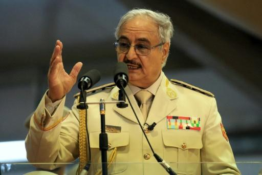 Libyan strongman Khalifa Haftar announced the taking of Derna, known for being a jihadist bastion, in a televised speech