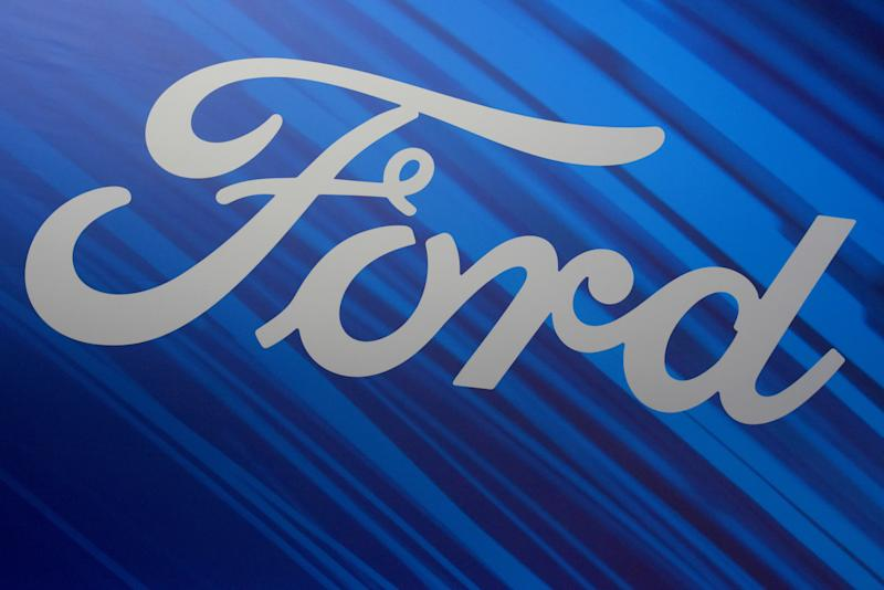 Corporate image of the Ford car brand exhibiting their vehicles at the 2019 Auto Show in Barcelona. (Photo by Ramon Costa / SOPA Images / Sipa USA)