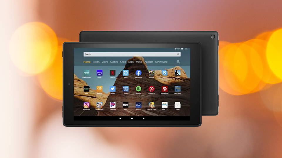 Save 47 percent on this Fire HD 10 Tablet. (Photo: Amazon)