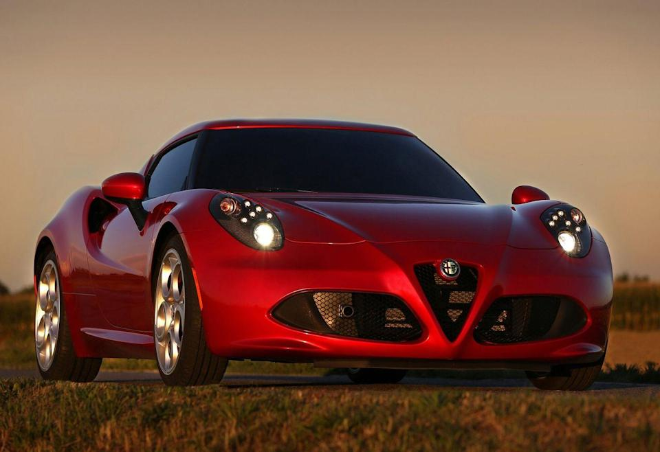 <p>Alfa's carbon-tubbed two-seater looks like it costs four times its mid-$50,000 base price.</p>