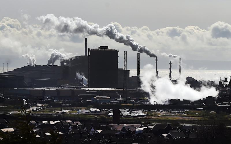 A pensions deal was struck as part of dramatic plan to save the steelworks in Port Talbot, South Wales - EPA/ANDY RAIN