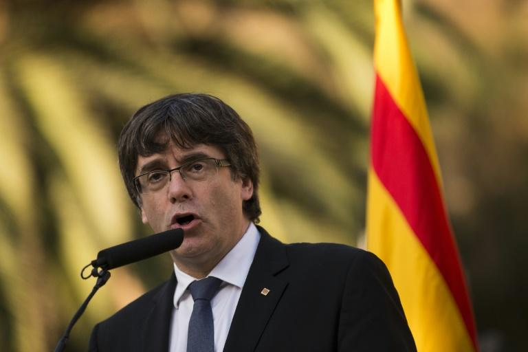 Catalan regional leader Carles Puigdemont will be stripped of his jobe under measures announced Saturday by Spanish Prime Minister Mariano Rajoy