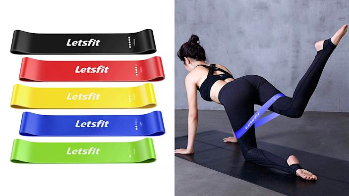 These stretchy bands can be stellar for everything from pre-workout stretches to pilates and more.