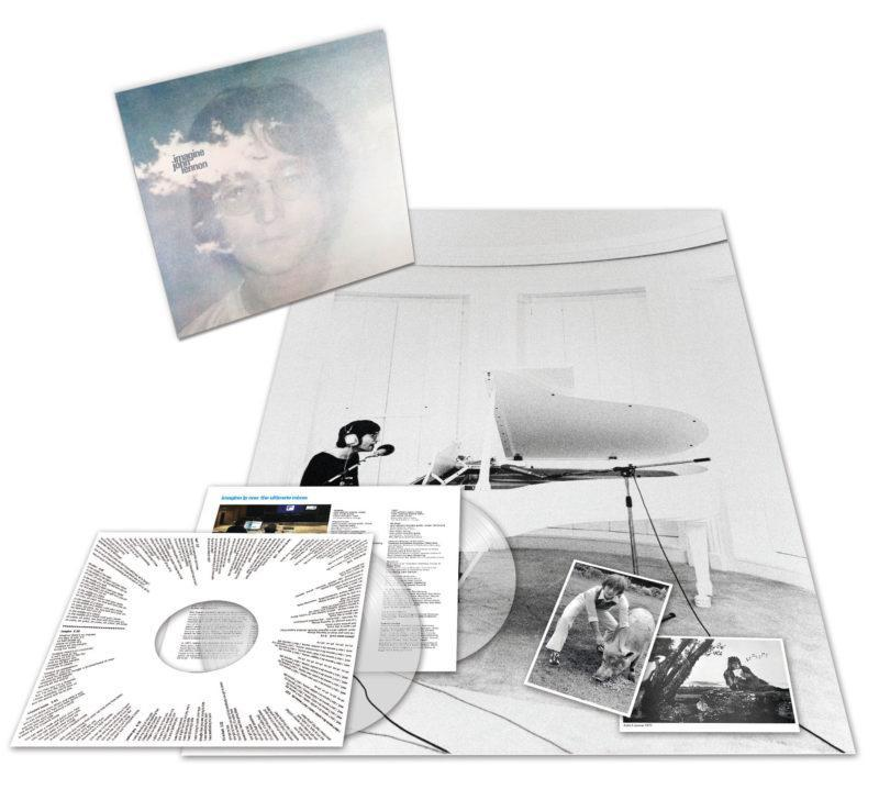 """<p>These six discs compile outtakes, demos, studio jams, raw mixes, interviews with John Lennon and Yoko Ono conducted by Elliot Mintz, """"element"""" tracks that isolate individual aspects of the mix, and a few non-Imagine singles — including, of course, """"Merry Xmas (War Is Over)."""" </p>"""