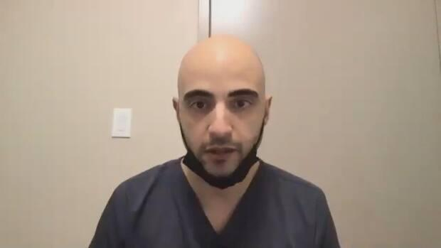 Pharmacist at Windsor Avenue Pharmacy George El-Turk says people were asking a lot of questions, but his location has been booked solid with appointments.