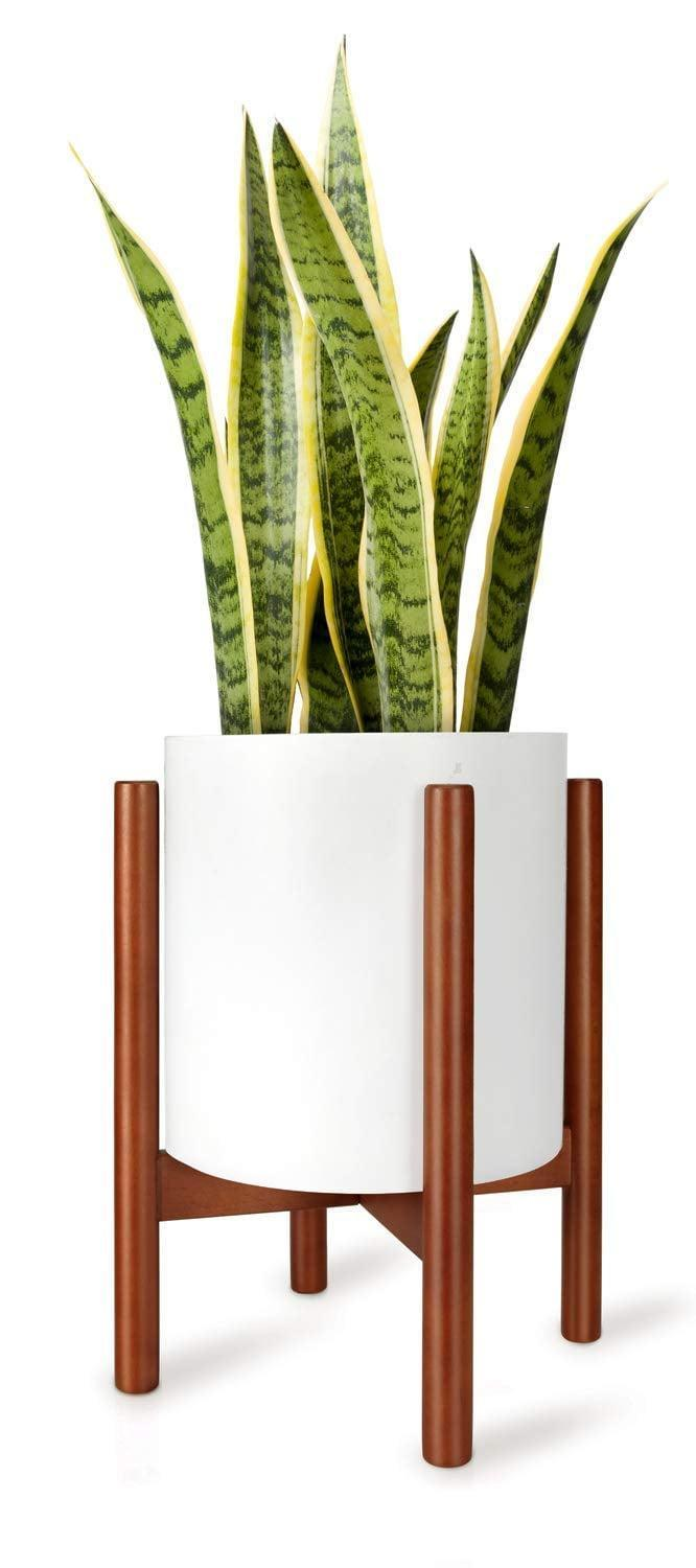 <p>This <span>Mkono Plant Stand</span> ($21) is the perfect size for any space.</p>