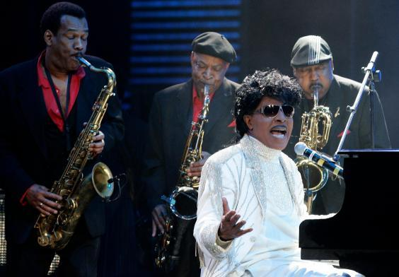 Richard performs at The Domino Effect, a tribute concert to Fats Domino in New Orleans, 2009 (AP)