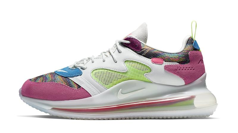 c79ed529529c2 Odell Beckham Jr.'s New Nike Air Max 720 Sneaker Makes a Colorful Debut