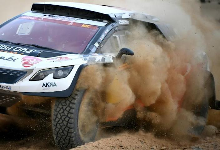 Cyril Despres and Mike Horn hope their diesel-powered Peugeot can pave the way for a hydrogen car to race in the desert