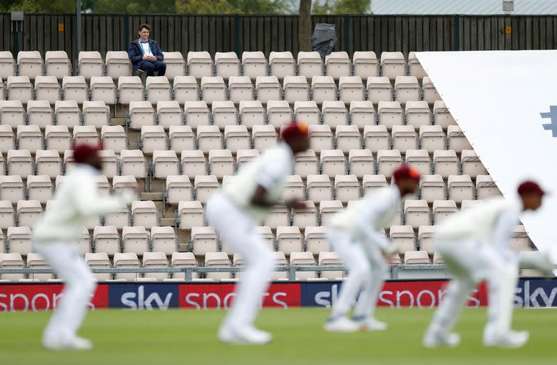 FILE PHOTO: First Test - England v West Indies