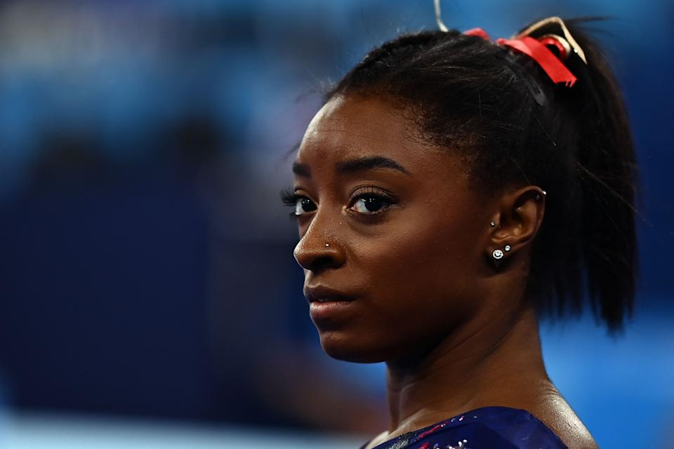 If they didn't before, Russia now has the attention of Simone Biles and Team USA women's gymnastics. (Photo by LOIC VENANCE/AFP via Getty Images)