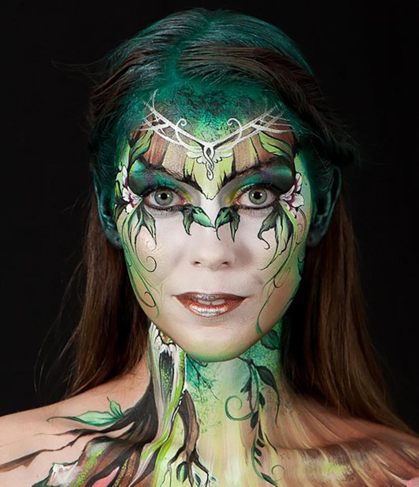 "<p>This creation by Claudia Kraemer won the ""World Award"" at the festival.(WB Production/World Bodypainting Festival)</p>"