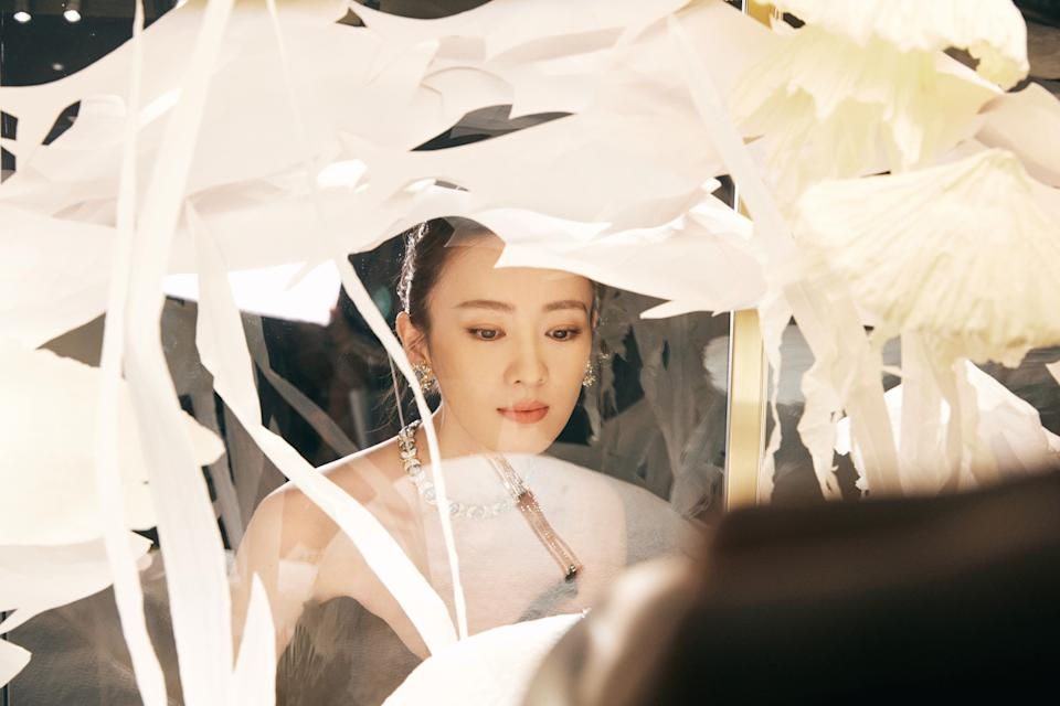 Chinese actress Tong Yao. (PHOTO: Tiffany & Co.)
