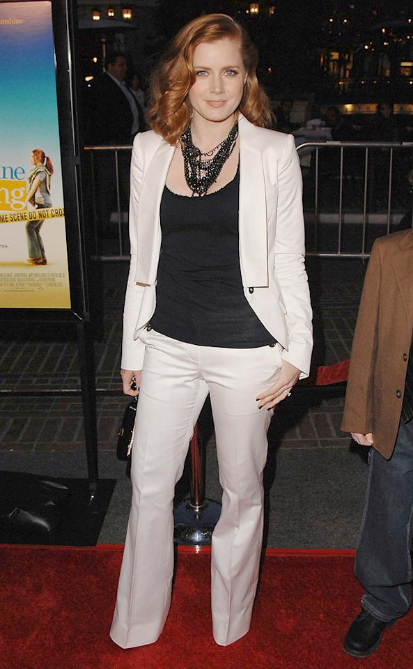 "<a href=""http://movies.yahoo.com/movie/contributor/1800018895"">Amy Adams</a> at the Los Angeles premiere of <a href=""http://movies.yahoo.com/movie/1809823943/info"">Sunshine Cleaning</a> - 03/09/2009"