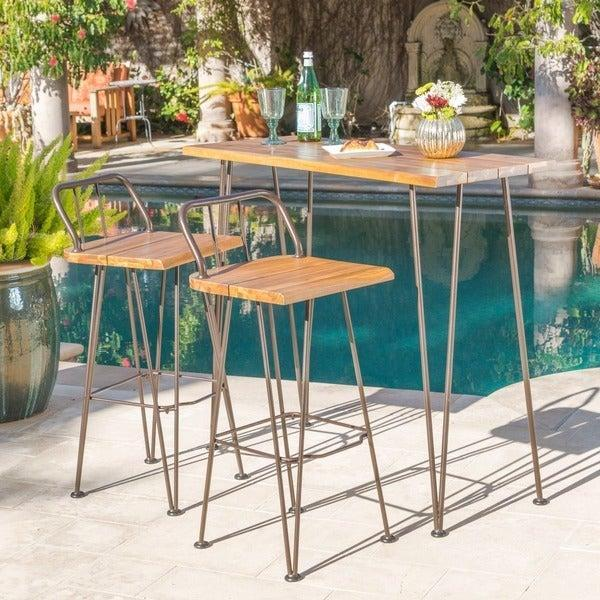 """<h2>Overstock</h2><br><strong>Sale:</strong> Patio Furniture starting at $19, Outdoor Decor starting at $19, Rugs under $100, and more sales in every category<br><strong>Promo Code:</strong> None<br><strong>Dates:</strong> Now - July 5<br><br><em>Shop</em> <strong><em><a href=""""http://overstock.com"""" rel=""""nofollow noopener"""" target=""""_blank"""" data-ylk=""""slk:Overstock"""" class=""""link rapid-noclick-resp"""">Overstock</a></em></strong><br><br><strong>Christopher Knight Home</strong> Denali Outdoor Industrial 3-piece Wood Bar Set, $, available at <a href=""""https://go.skimresources.com/?id=30283X879131&url=https%3A%2F%2Fwww.overstock.com%2FHome-Garden%2FDenali-Outdoor-Industrial-3-piece-Wood-Bar-Set-by-Christopher-Knight-Home%2F19502028%2Fproduct.html"""" rel=""""nofollow noopener"""" target=""""_blank"""" data-ylk=""""slk:Overstock"""" class=""""link rapid-noclick-resp"""">Overstock</a>"""