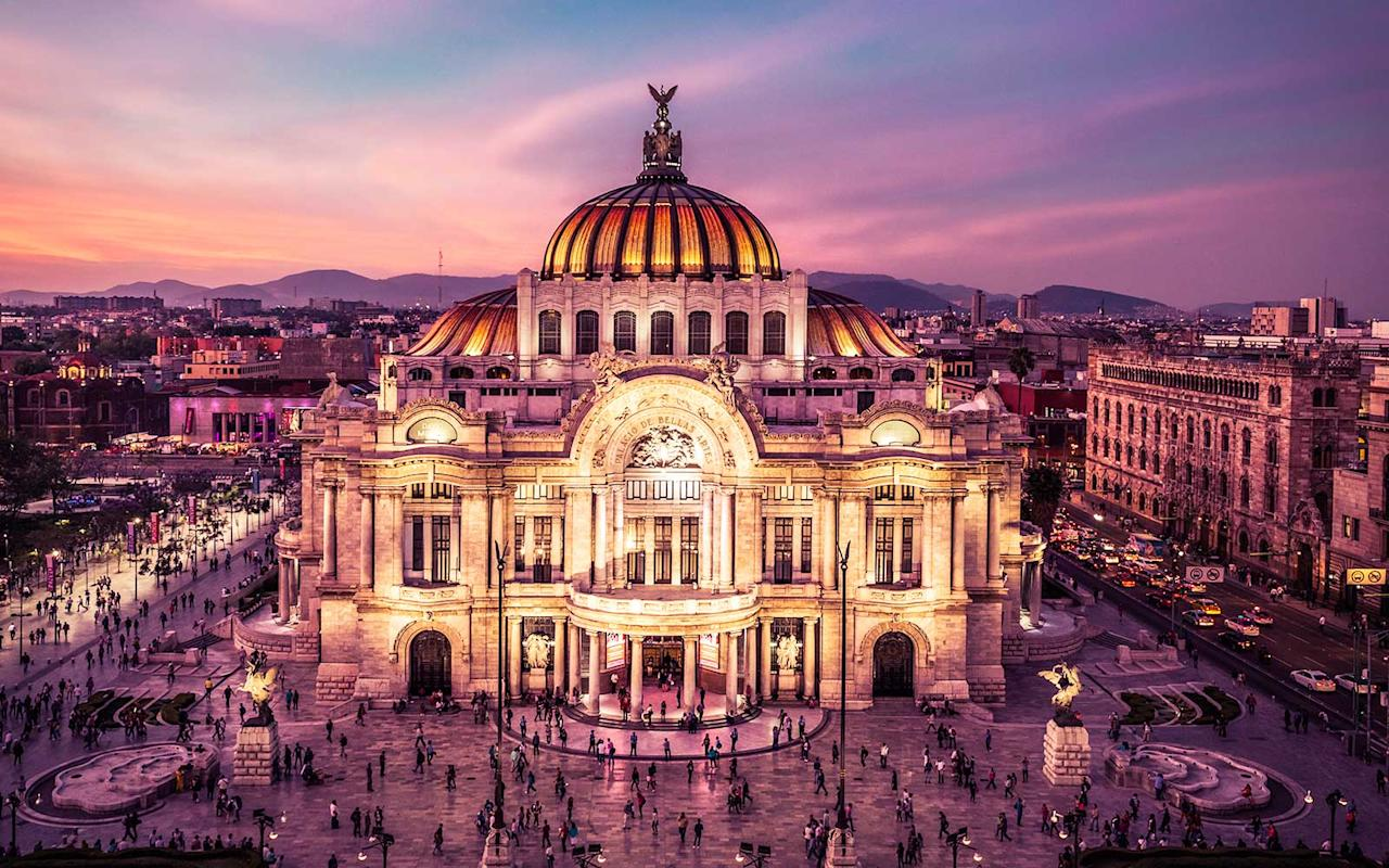 <p>Palacio de Bellas Artes is a building that will make your jaw drop. The iconic cultural center was initially designed by Adamo Boari, an Italian architect, in 1904.</p>