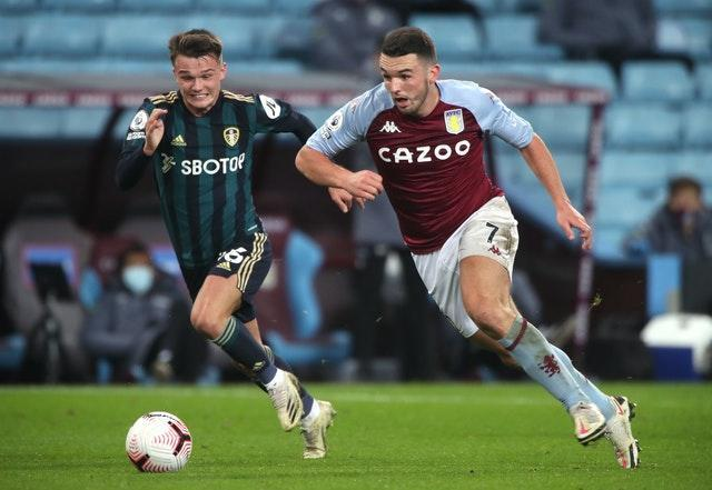 Jamie Shackleton, left, has started in one of his eight Premier League appearances this season