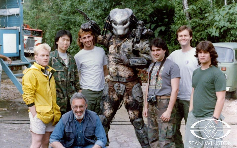 The gentle giant behind the Predator mask: remembering 7 ft. 2 actor Kevin Peter Hall (Stan Winston Studio)