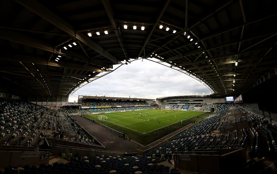 The Super Cup is being hosted at Windsor Park in Belfast (Liam McBurney/PA) (PA Wire)
