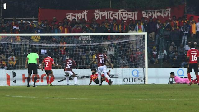 The club CEO and COO were slapped, hit with shoes by angry fans after East Bengal suffered their second consecutive I-League defeat...