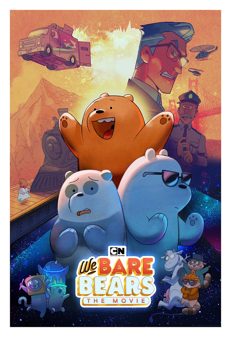 In this latest adventure,We Bare Bears:The Movieintroduces the biggest threat to the Bears thus far – a sinister villain named Agent Trout who is determined to tear the lovable brothers apart.