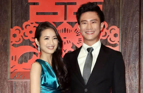 Ariel's husband has returned to Taiwan to welcome their baby's arrival together