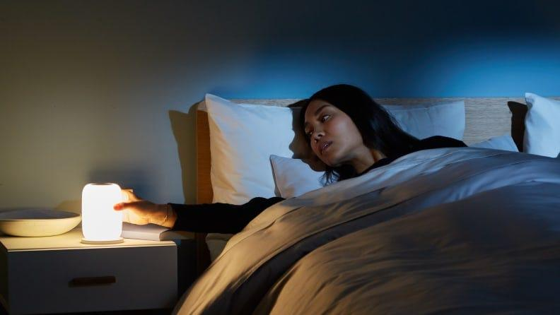 This wake-up light can help ease the struggle of getting out of bed.