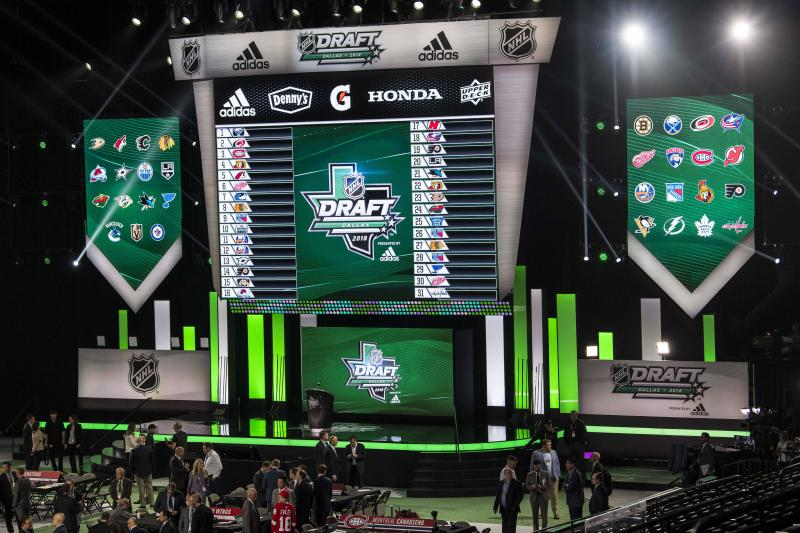2020 NHL Draft, done virtually, scheduled for October 6-7
