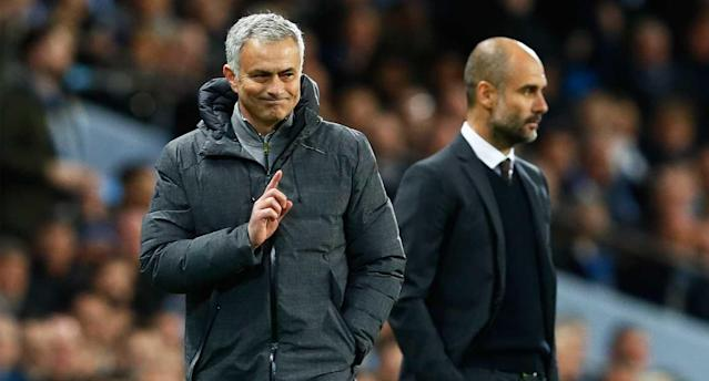 Mourinho and Guardiola were somewhat of a collective letdown. (Reuters)