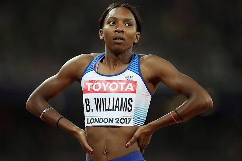 Speaking out: the Met apologised to sprinter Bianca Williams after pulling her over (PA)