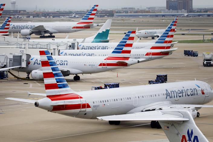 The American Airlines Group Inc. Terminal Ahead Of Earnings Figures (Patrick T. Fallon / Bloomberg via Getty Images file)