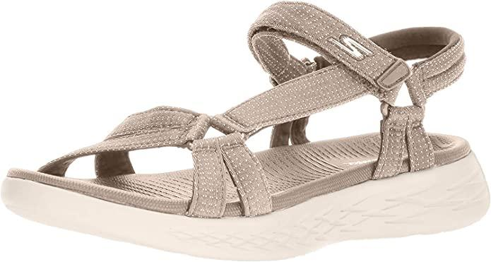 Skechers On the GO 600 Brilliancy Sport Sandals. Image via Amazon.