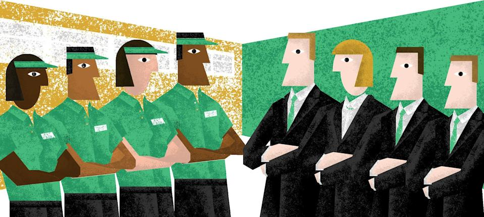 The restaurant industry lacks diversity among its executives.