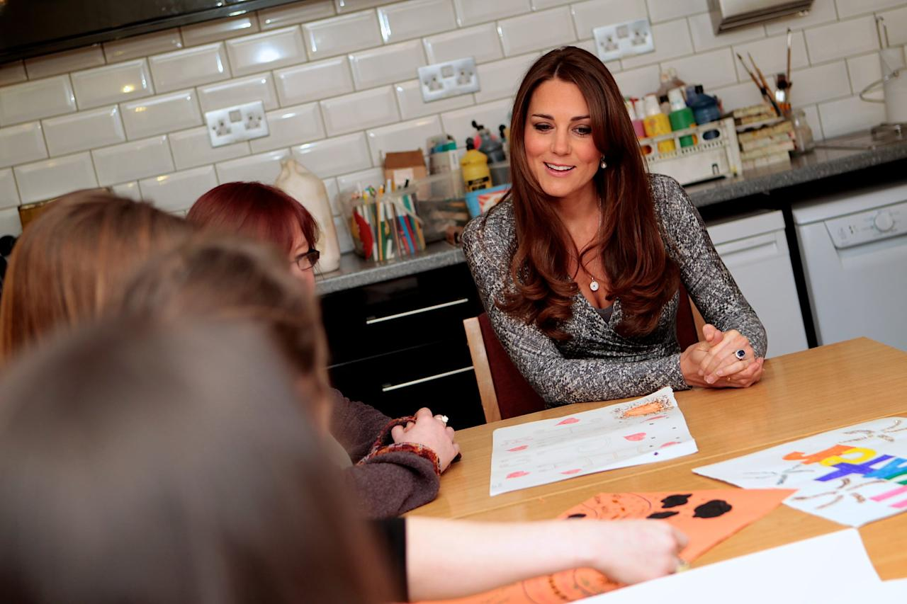 "<p>Kate grew up making her own Christmas cards, crafting paper chains, and baking peppermint creams, so it's guaranteed that Prince George and Princess Charlotte will be getting busy this festive season, especially since the duchess's mom, Carole Middleton, said in an interview in 2015, <a href=""http://people.com/royals/carole-%0Amiddleton-reveals-her-crafty-christmas-plans/"" target=""_blank"" class=""ga-track"" data-ga-category=""Related"" data-ga-label=""http://people.com/royals/carole- middleton-reveals-her-crafty-christmas-plans/"" data-ga-action=""In-Line Links"">""All children like baking.""</a> Kate has also been known to make her own jams and chutneys, famously giving the queen a jar of handmade jam at her first royal Christmas.</p>"