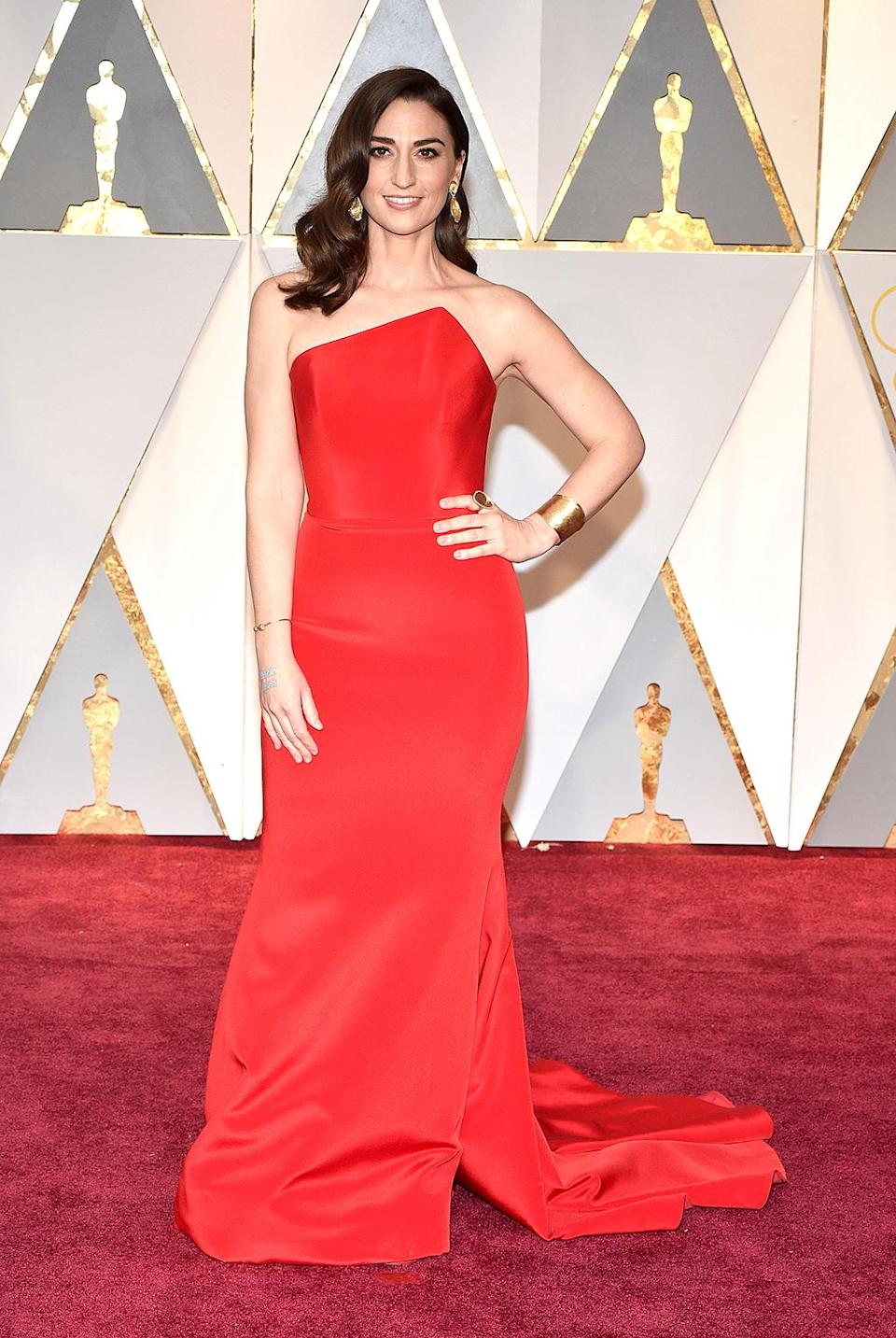 <p>Musician Sara Bareilles attends the 89th Annual Academy Awards at Hollywood & Highland Center on February 26, 2017 in Hollywood, California. (Photo by Kevin Mazur/Getty Images) </p>