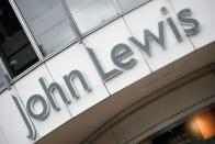FILE PHOTO: A signage of a John Lewis store is seen in London