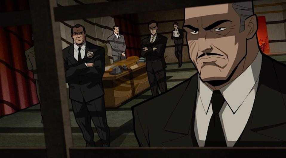 Carmine Falcone, Gotham's Godfather, in The Long Halloween animated film.